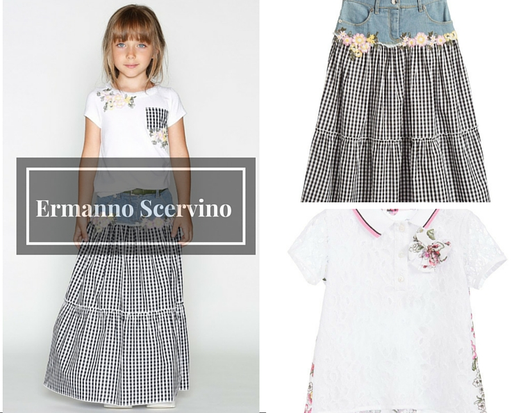 Ermanno Scervino kids clothes