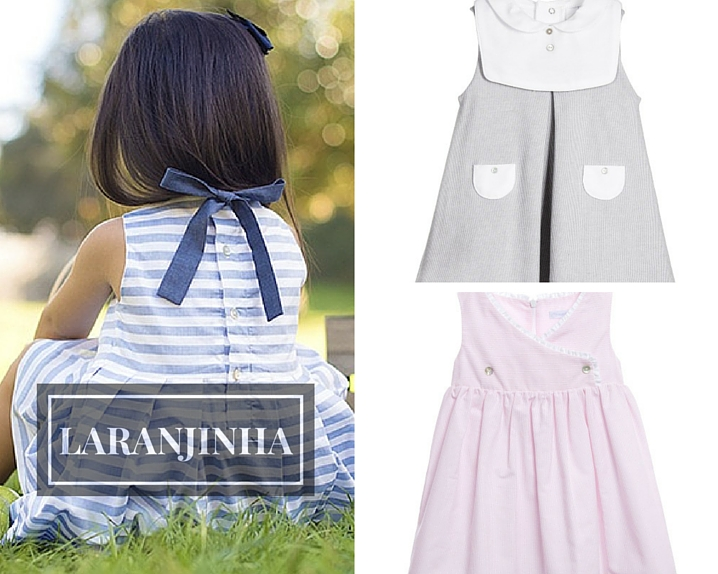 Laranhinha designer childrenswear