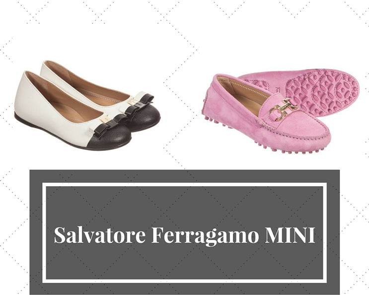 Salvatore Ferragamo MINI girls shoes