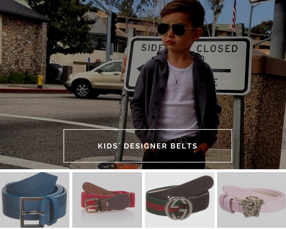 Kids` designer belts