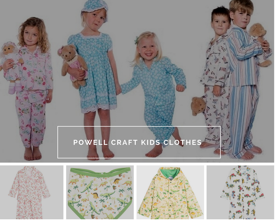 Powell Craft kids clothes