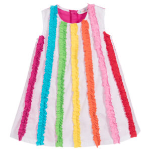 Agatha Ruiz de la Prada Colourful Cotton Dress for girls