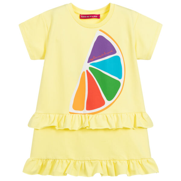 Agatha Ruiz de la Prada Colourful Jersey Dress for girls