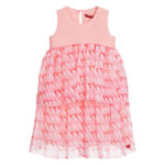 Agatha Ruiz de la Prada Girls Pink Hearts Dress