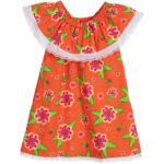 Agatha Ruiz de la Prada Girls lightweight Cotton Dress