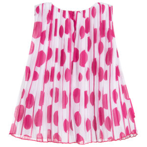 Agatha Ruiz de la Prada Pink Chiffon Dress for little princess 1