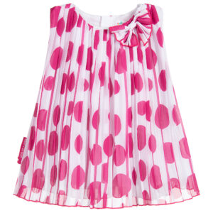 Agatha Ruiz de la Prada Pink Chiffon Dress for little princess