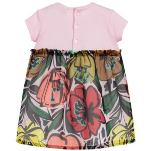 Aigner Kids Colourful Baby Dress with flowers 1