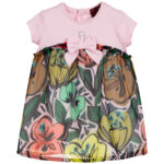 Aigner Kids Colourful Baby Dress with flowers