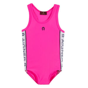 Aigner Kids Pink Swimsuit for girls