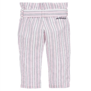 Aigner Kids striped trousers for little fashionistas 1