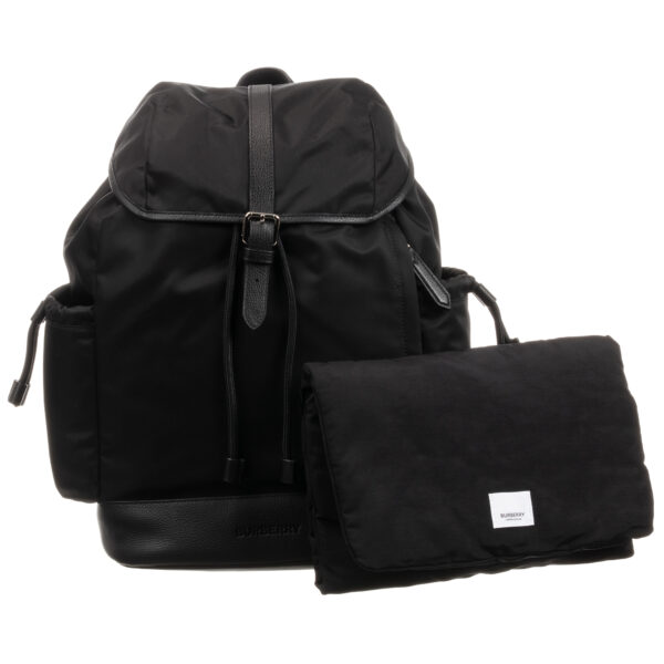 Burberry Black Changing Bag for young moms (44cm)