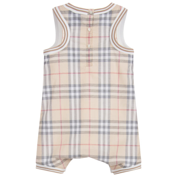 Burberry beautiful beige set for baby boys 3