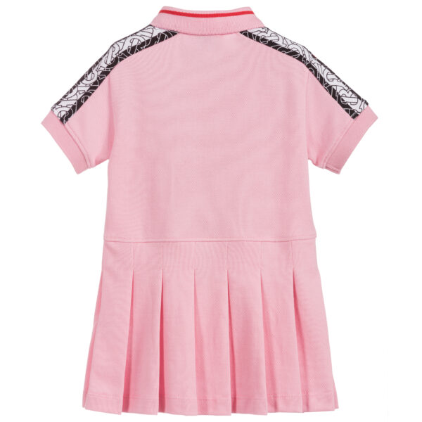 Burberry pink dress for girls 1