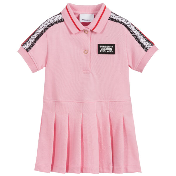 Burberry pink dress for girls
