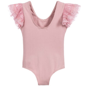 Angel's Face Girls Pink Bodysuit 1