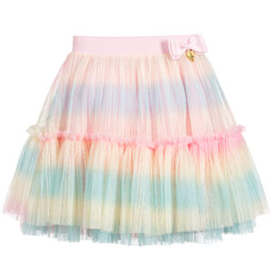 Angel's Face Pastel Pink Skirt For Little Ladies