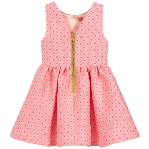 Angel's Face Pink Sleeveless Dress For Girls 2