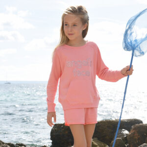Angel's Face Pink Sweatshirt For Beautiful Girls 1