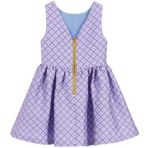 Angel's Face Purple Sleeveless Dress 2