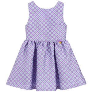 Angel's Face Purple Sleeveless Dress