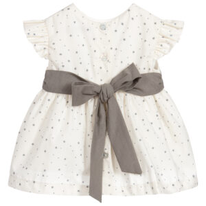 Babidu Grey Dress Set In Stars For Beautiful Girls 1