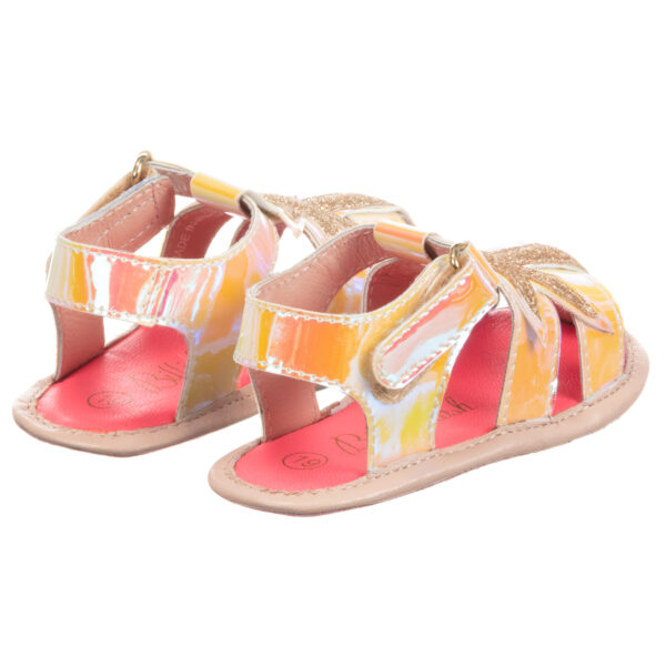 Billieblush Bright Sandals With Sequins 1