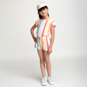 Billieblush Colourful Playsuit For Girls 1