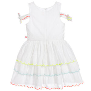 Billieblush White Sundress With Colorful Inserts 1