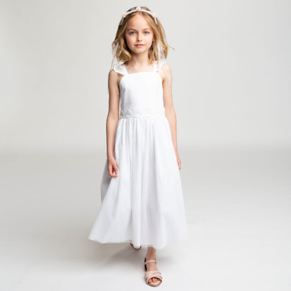 Carrément Beau Long White Dress 1