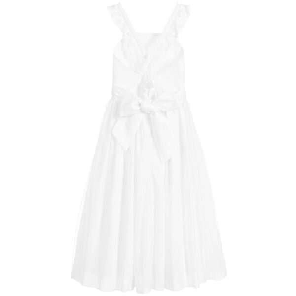 Carrément Beau Long White Dress 2