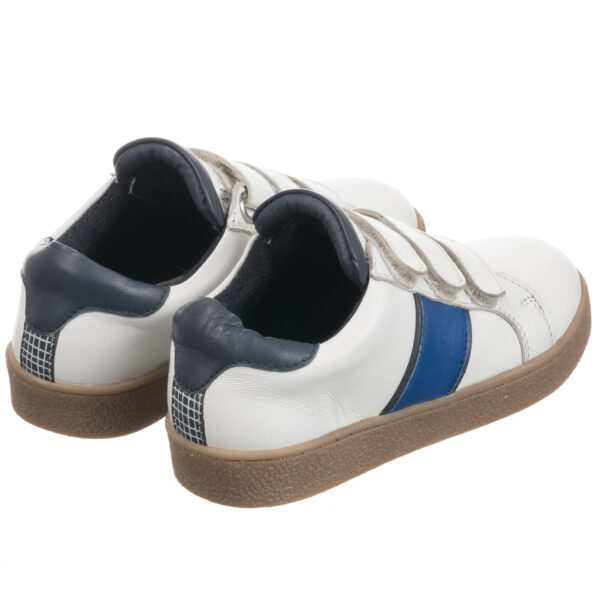 Carrément Beau White Leather Trainers For Boys 1