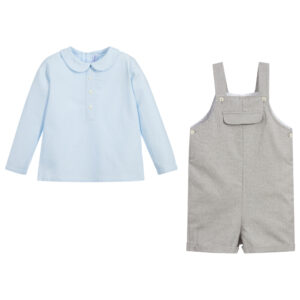 Ancar Shirt & Shorts Set For Little Boys 2