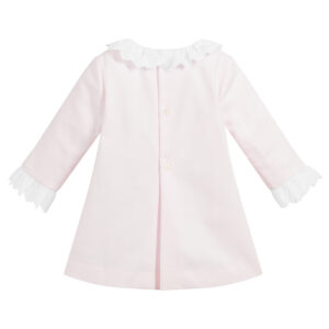Ancar Girls Pink Cotton Dress Set 1