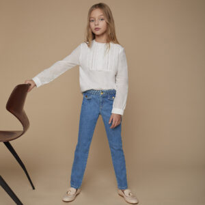 Chloé Blue Jeans For Girls 1