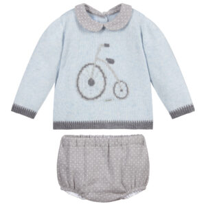 Foque Blue & Grey Shorts Set 1