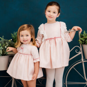 Foque Girls Pretty Pink Dress 1