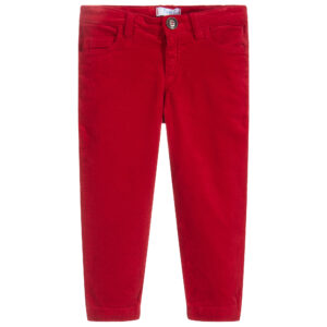 Foque Girls Red Trousers