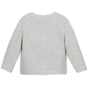 Foque Grey Cardigan For Children 1