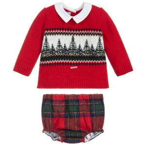 Foque Red Shorts Set 1