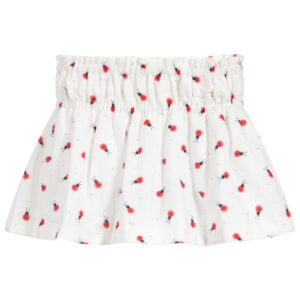 Foque White Skirt For Little Girls