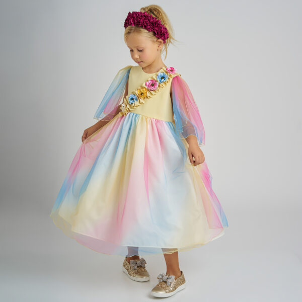 Graci Colourful Dress With Flowers 1