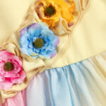 Graci Colourful Dress With Flowers 3