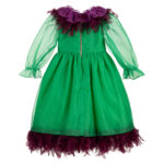 Graci Green Dress For Litlle Princess 2